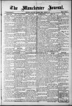 Primary view of object titled 'The Manchester Journal. (Manchester, Okla.), Vol. 19, No. 36, Ed. 1 Thursday, February 9, 1911'.