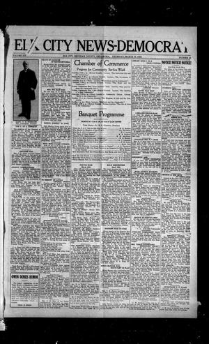 Primary view of object titled 'Elk City News-Democrat (Elk City, Okla.), Vol. 19, No. 46, Ed. 1 Thursday, March 16, 1922'.