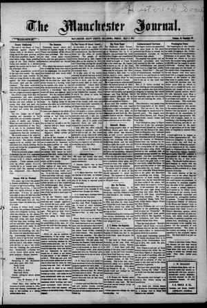 Primary view of object titled 'The Manchester Journal. (Manchester, Okla.), Vol. 19, No. 48, Ed. 1 Wednesday, May 3, 1911'.