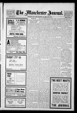 Primary view of object titled 'The Manchester Journal. (Manchester, Okla. Terr.), Vol. 11, No. 51, Ed. 1 Friday, May 27, 1904'.