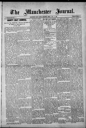 Primary view of object titled 'The Manchester Journal. (Manchester, Okla.), Vol. 15, No. 49, Ed. 1 Friday, May 8, 1908'.