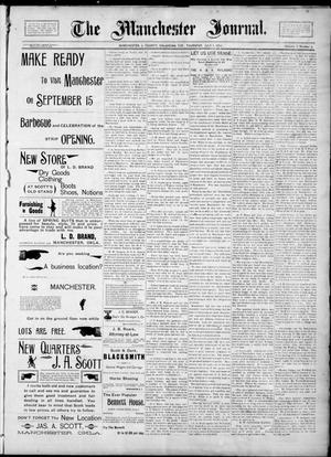 Primary view of object titled 'The Manchester Journal. (Manchester, Okla. Terr.), Vol. 2, No. 4, Ed. 1 Thursday, July 5, 1894'.