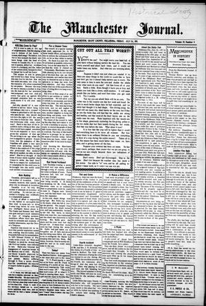 Primary view of object titled 'The Manchester Journal. (Manchester, Okla.), Vol. 19, No. 6, Ed. 1 Friday, July 14, 1911'.