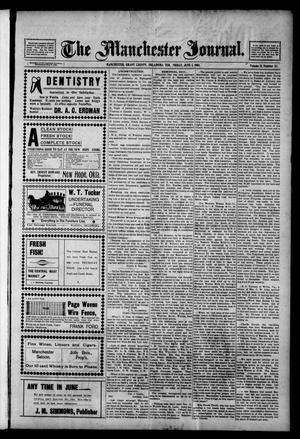 Primary view of object titled 'The Manchester Journal. (Manchester, Okla. Terr.), Vol. 11, No. 52, Ed. 1 Friday, June 3, 1904'.