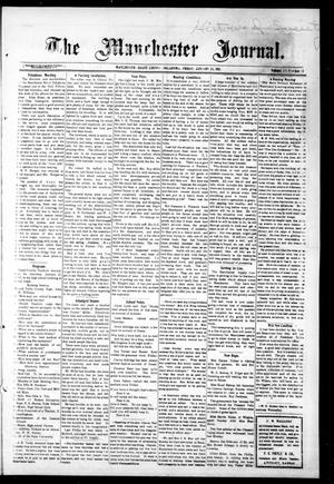 Primary view of object titled 'The Manchester Journal. (Manchester, Okla.), Vol. 20, No. 34, Ed. 1 Friday, January 24, 1913'.