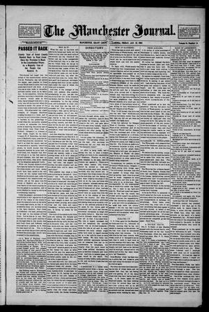 Primary view of object titled 'The Manchester Journal. (Manchester, Okla.), Vol. 14, No. 34, Ed. 1 Friday, January 25, 1907'.