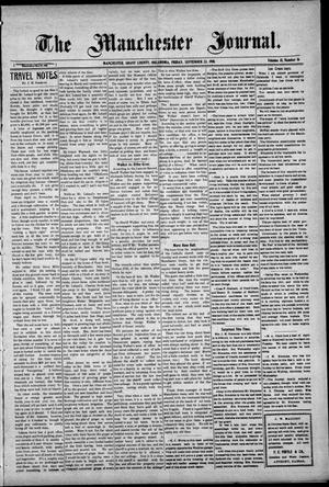 Primary view of object titled 'The Manchester Journal. (Manchester, Okla.), Vol. 18, No. 16, Ed. 1 Friday, September 23, 1910'.