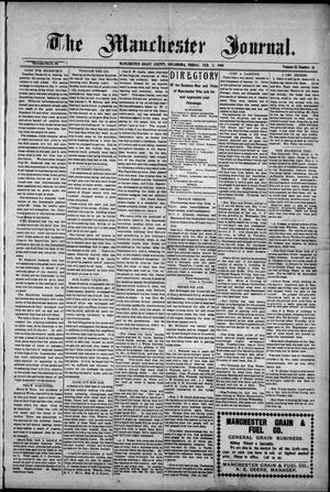 Primary view of object titled 'The Manchester Journal. (Manchester, Okla.), Vol. 15, No. 36, Ed. 1 Friday, February 7, 1908'.