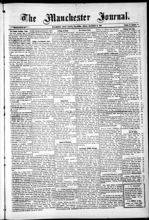 Primary view of object titled 'The Manchester Journal. (Manchester, Okla.), Vol. 18, No. 30, Ed. 1 Friday, December 30, 1910'.