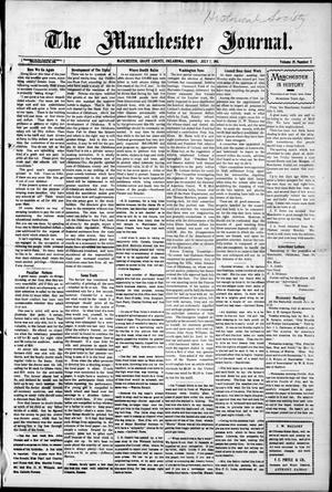Primary view of object titled 'The Manchester Journal. (Manchester, Okla.), Vol. 19, No. 5, Ed. 1 Friday, July 7, 1911'.