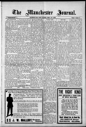 Primary view of object titled 'The Manchester Journal. (Manchester, Okla.), Vol. 17, No. 16, Ed. 1 Friday, September 24, 1909'.