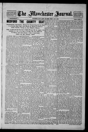 Primary view of object titled 'The Manchester Journal. (Manchester, Okla.), Vol. 14, No. 33, Ed. 1 Friday, January 18, 1907'.