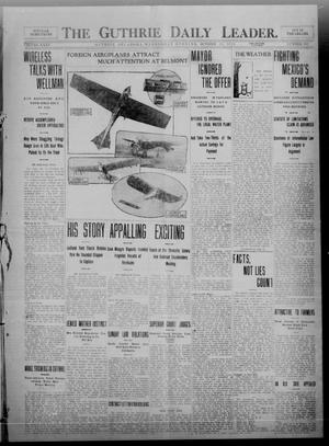 Primary view of object titled 'The Guthrie Daily Leader. (Guthrie, Okla.), Vol. 35, No. 118, Ed. 1 Wednesday, October 19, 1910'.