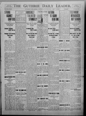 Primary view of object titled 'The Guthrie Daily Leader. (Guthrie, Okla.), Vol. 34, No. 135, Ed. 1 Thursday, May 5, 1910'.