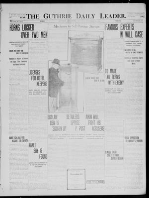 Primary view of object titled 'The Guthrie Daily Leader. (Guthrie, Okla.), Vol. 39, No. 135, Ed. 1 Tuesday, December 10, 1912'.