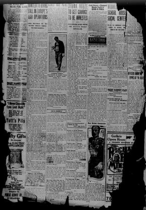 Primary view of object titled 'The Guthrie Daily Leader (Guthrie, Okla.), Vol. 49, No. 142, Ed. 1 Monday, January 3, 1916'.