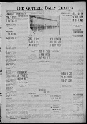 Primary view of object titled 'The Guthrie Daily Leader (Guthrie, Okla.), Vol. 48, No. 47, Ed. 1 Thursday, August 31, 1916'.