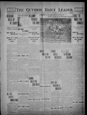 Primary view of object titled 'The Guthrie Daily Leader. (Guthrie, Okla.), Vol. 36, No. 7, Ed. 1 Tuesday, December 13, 1910'.