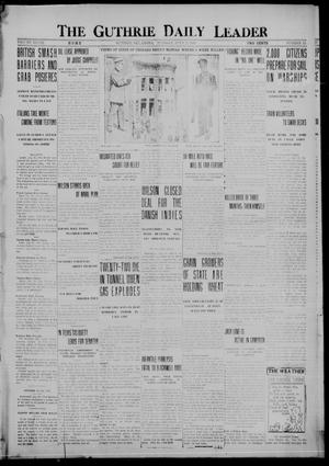 Primary view of object titled 'The Guthrie Daily Leader (Guthrie, Okla.), Vol. 48, No. 15, Ed. 1 Tuesday, July 25, 1916'.