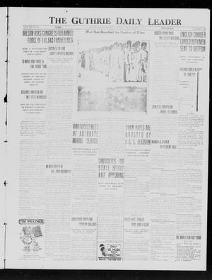Primary view of object titled 'The Guthrie Daily Leader (Guthrie, Okla.), Vol. 49, No. 120, Ed. 1 Tuesday, December 7, 1915'.