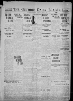 Primary view of object titled 'The Guthrie Daily Leader. (Guthrie, Okla.), Vol. 36, No. 100, Ed. 1 Tuesday, April 11, 1911'.