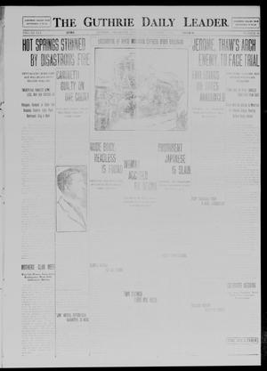 Primary view of object titled 'The Guthrie Daily Leader. (Guthrie, Okla.), Vol. 41, No. 48, Ed. 1 Saturday, September 6, 1913'.