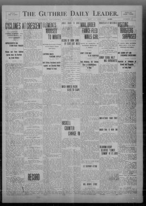 Primary view of object titled 'The Guthrie Daily Leader. (Guthrie, Okla.), Vol. 32, No. 157, Ed. 1 Monday, May 24, 1909'.