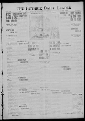 Primary view of object titled 'The Guthrie Daily Leader (Guthrie, Okla.), Vol. 50, No. 107, Ed. 1 Saturday, May 20, 1916'.