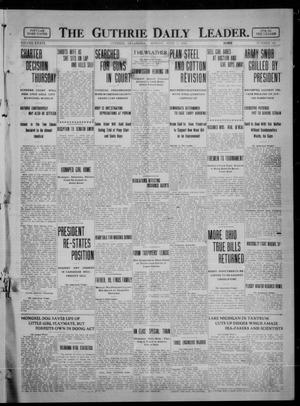 Primary view of object titled 'The Guthrie Daily Leader. (Guthrie, Okla.), Vol. 36, No. 145, Ed. 1 Monday, June 5, 1911'.