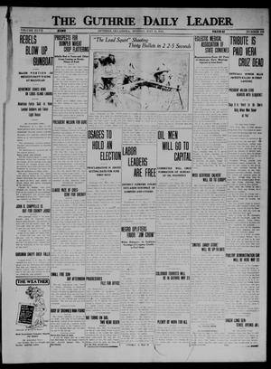 Primary view of object titled 'The Guthrie Daily Leader. (Guthrie, Okla.), Vol. 47, No. 103, Ed. 1 Monday, May 11, 1914'.