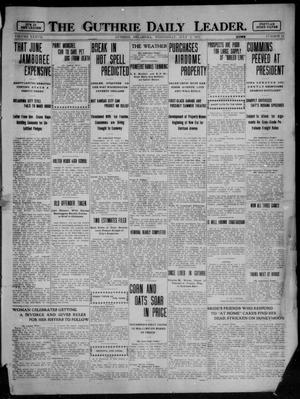 Primary view of object titled 'The Guthrie Daily Leader. (Guthrie, Okla.), Vol. 37, No. 13, Ed. 1 Wednesday, July 5, 1911'.