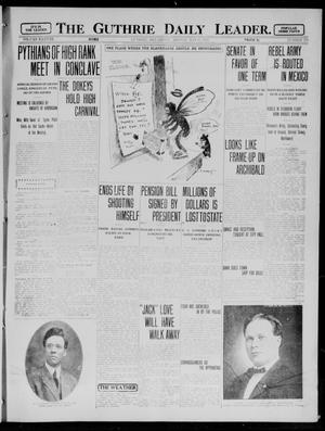 Primary view of object titled 'The Guthrie Daily Leader. (Guthrie, Okla.), Vol. 38, No. 119, Ed. 1 Monday, May 13, 1912'.