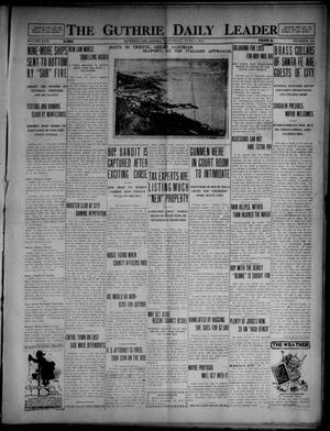 Primary view of object titled 'The Guthrie Daily Leader (Guthrie, Okla.), Vol. 49, No. 121, Ed. 1 Saturday, June 5, 1915'.