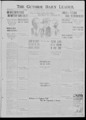 Primary view of object titled 'The Guthrie Daily Leader. (Guthrie, Okla.), Vol. 49, No. 26, Ed. 1 Thursday, February 15, 1917'.
