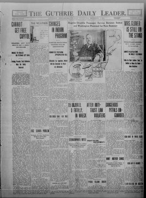 Primary view of object titled 'The Guthrie Daily Leader. (Guthrie, Okla.), Vol. 35, No. 155, Ed. 1 Friday, December 2, 1910'.