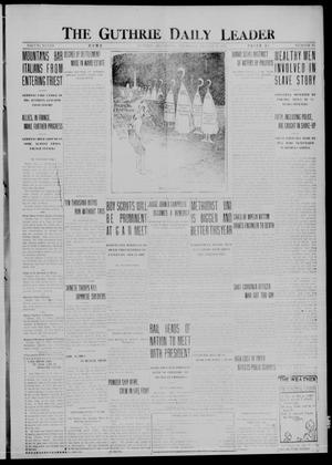 Primary view of object titled 'The Guthrie Daily Leader (Guthrie, Okla.), Vol. 48, No. 35, Ed. 1 Thursday, August 17, 1916'.