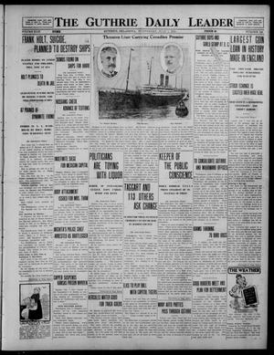 Primary view of object titled 'The Guthrie Daily Leader (Guthrie, Okla.), Vol. 49, No. 148, Ed. 1 Wednesday, July 7, 1915'.
