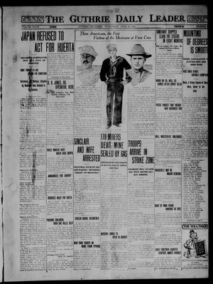 Primary view of object titled 'The Guthrie Daily Leader. (Guthrie, Okla.), Vol. 47, No. 93, Ed. 1 Wednesday, April 29, 1914'.