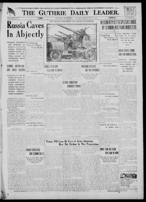 Primary view of The Guthrie Daily Leader. (Guthrie, Okla.), Vol. 51, No. 15, Ed. 1 Monday, February 11, 1918