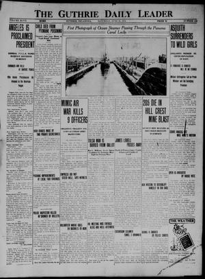 Primary view of object titled 'The Guthrie Daily Leader (Guthrie, Okla.), Vol. 47, No. 138, Ed. 1 Saturday, June 20, 1914'.
