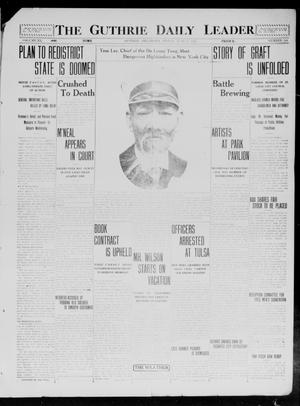 Primary view of object titled 'The Guthrie Daily Leader. (Guthrie, Okla.), Vol. 40, No. 144, Ed. 1 Friday, June 27, 1913'.
