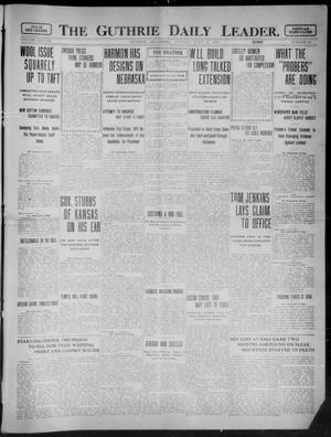 Primary view of object titled 'The Guthrie Daily Leader. (Guthrie, Okla.), Vol. 37, No. 30, Ed. 1 Tuesday, July 25, 1911'.
