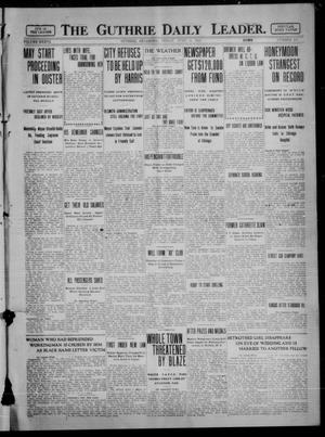 Primary view of object titled 'The Guthrie Daily Leader. (Guthrie, Okla.), Vol. 36, No. 155, Ed. 1 Friday, June 16, 1911'.