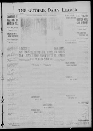 Primary view of object titled 'The Guthrie Daily Leader (Guthrie, Okla.), Vol. 50, No. 88, Ed. 1 Friday, April 28, 1916'.
