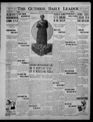Primary view of object titled 'The Guthrie Daily Leader (Guthrie, Okla.), Vol. 49, No. 152, Ed. 1 Monday, July 12, 1915'.