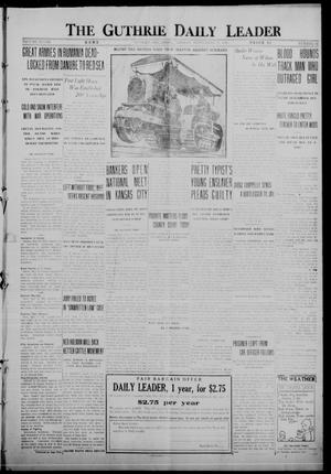 Primary view of object titled 'The Guthrie Daily Leader (Guthrie, Okla.), Vol. 48, No. 68, Ed. 1 Monday, September 25, 1916'.