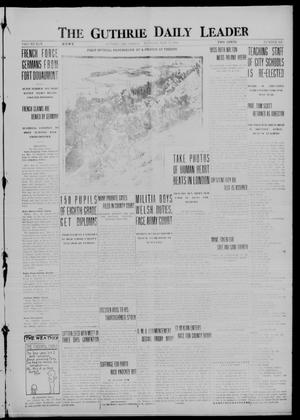 Primary view of object titled 'The Guthrie Daily Leader (Guthrie, Okla.), Vol. 50, No. 109, Ed. 1 Tuesday, May 23, 1916'.