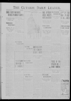 Primary view of object titled 'The Guthrie Daily Leader. (Guthrie, Okla.), Vol. 49, No. 6, Ed. 1 Friday, January 19, 1917'.