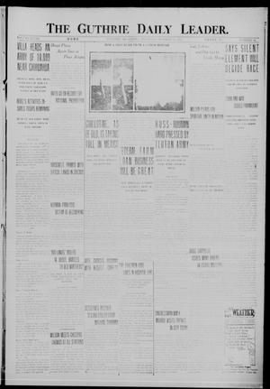 Primary view of object titled 'The Guthrie Daily Leader. (Guthrie, Okla.), Vol. 48, No. 94, Ed. 1 Thursday, October 26, 1916'.