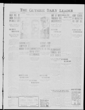 Primary view of object titled 'The Guthrie Daily Leader (Guthrie, Okla.), Vol. 49, No. 130, Ed. 1 Monday, December 20, 1915'.